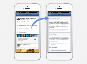 Facebook Giving People More Control Over the Ads They See